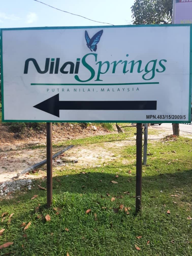 Tanah Lot Banglo di Nilai Spring berhampiran Mesamall untuk diJUAL
